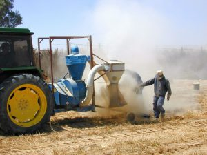 Pumping seed collection